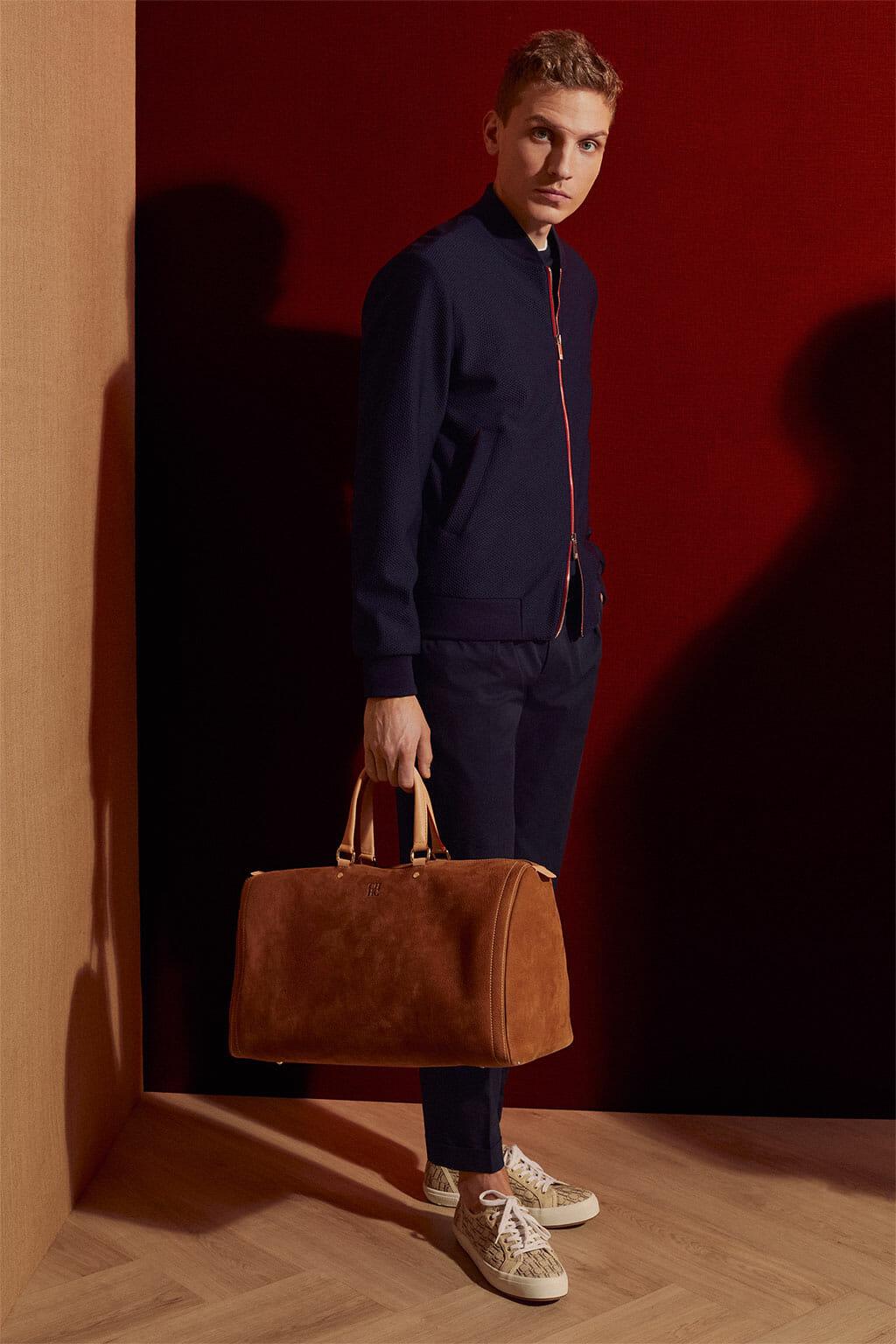 CH Carolina Herrera. New Menswear Collection Early Summer. Look 10