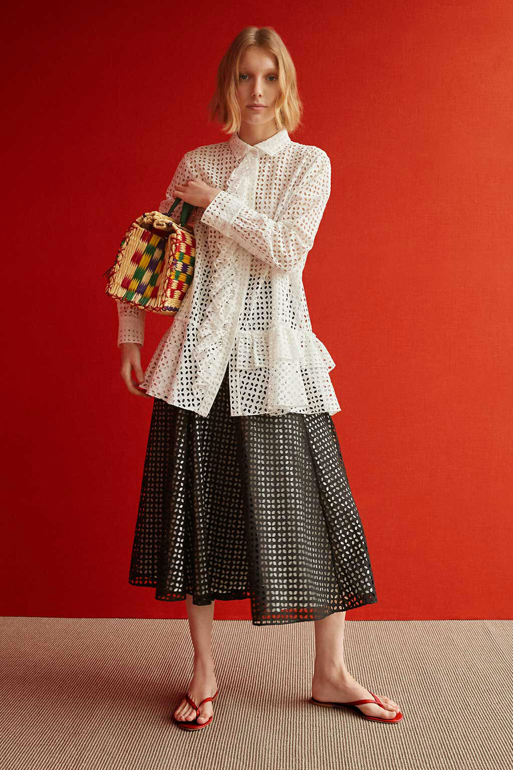 CH Carolina Herrera. New Womenswear Collection Summer. Look 13