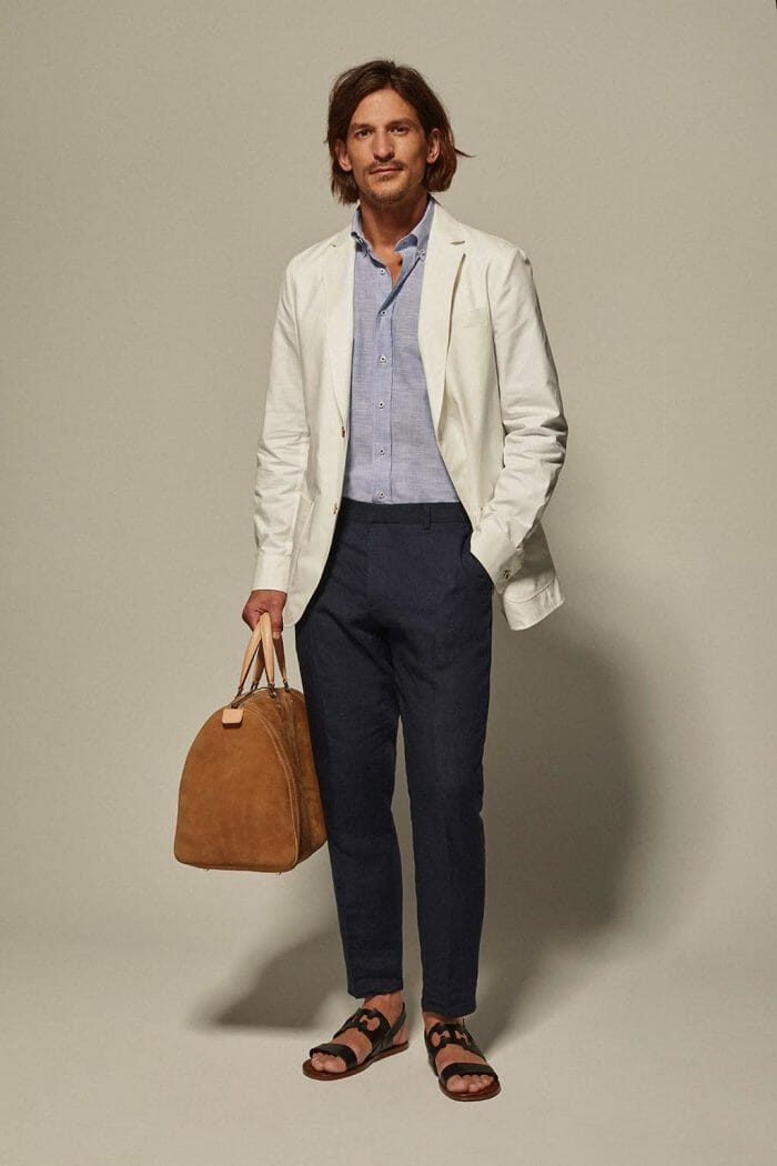 CH Carolina Herrera. New Menswear Collection Capsule Collection. Look 12