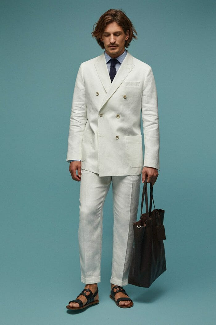 CH Carolina Herrera. New Menswear Collection Capsule Collection. Look 03