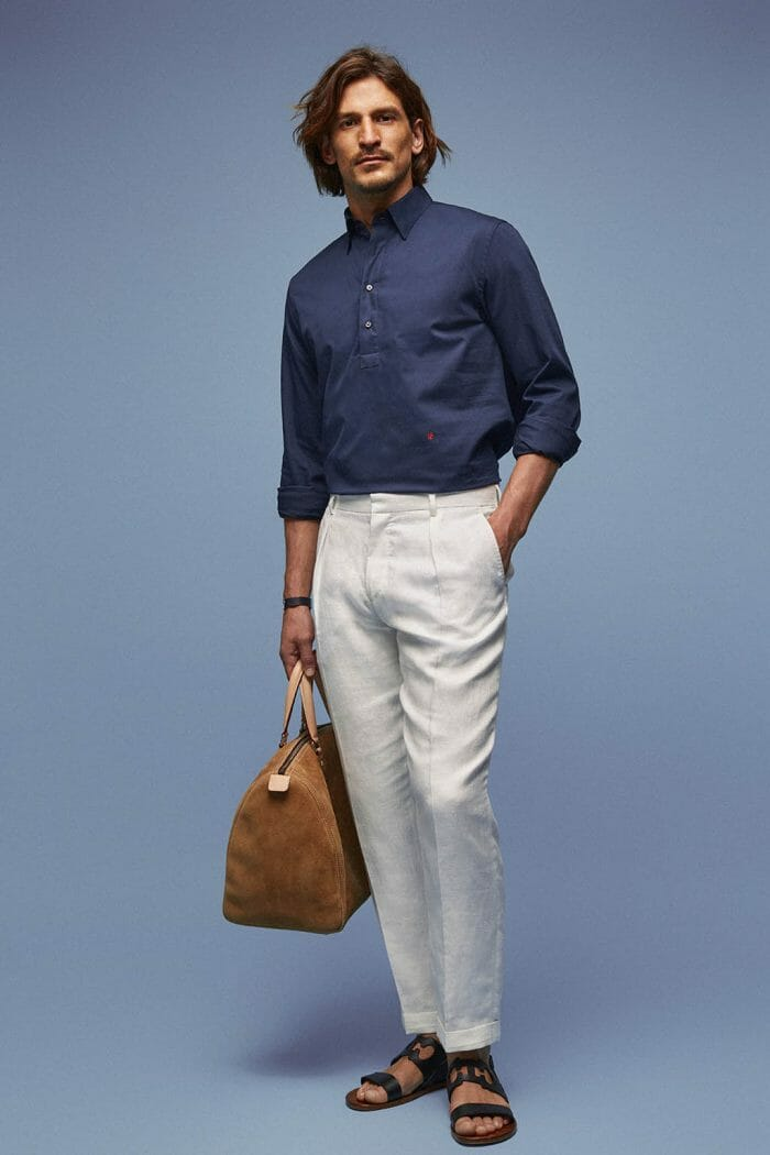 CH Carolina Herrera. New Menswear Collection Capsule Collection. Look 04