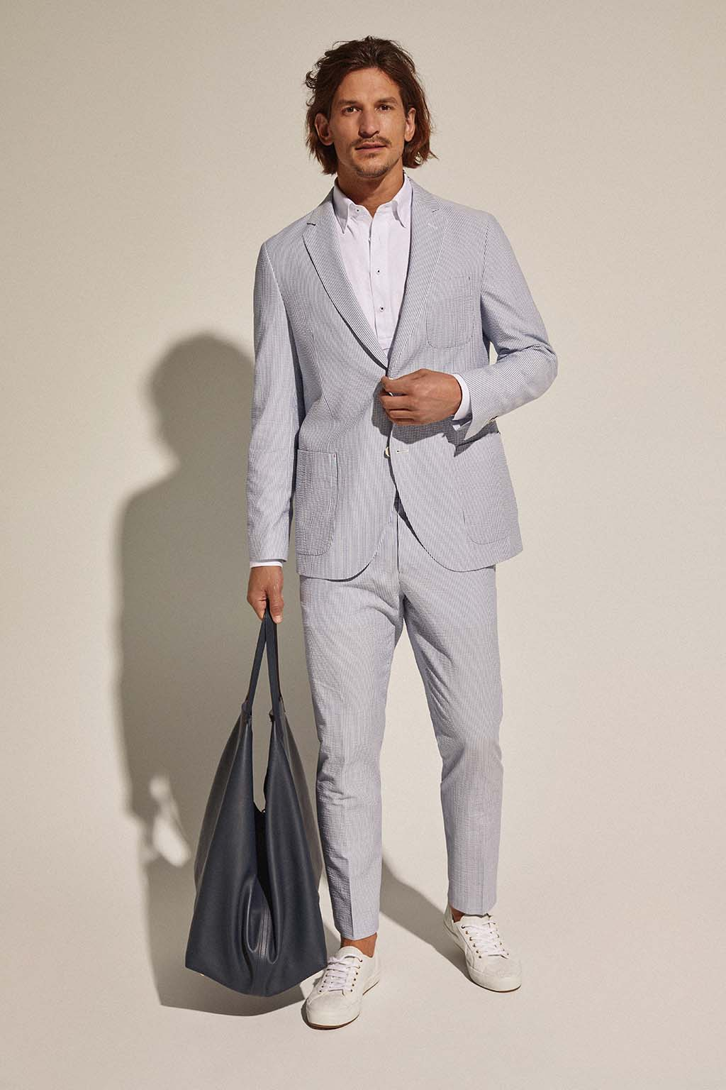CH Carolina Herrera. New Menswear Collection Capsule Collection. Look 07